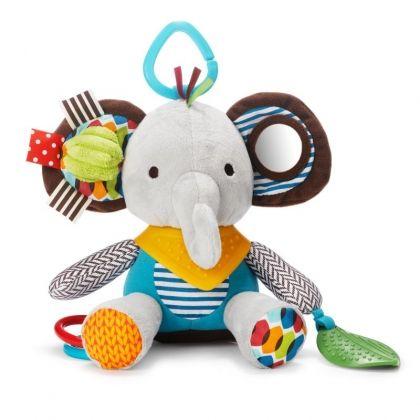 Skip Hop Мека играчка с чесалка - Слонче
