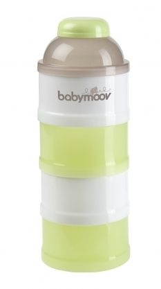 Контейнери за мляко на прах Green-Brown - Babymoov