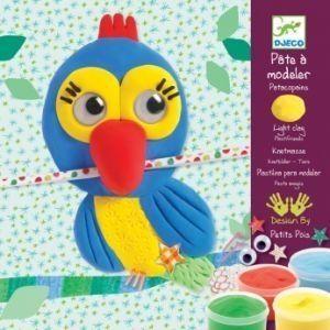 Комплект за моделиране с цветен клей Plastifriends