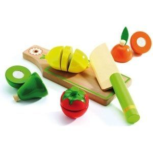 Djeco Toys -детски комплект Fruits and vegetables to cut