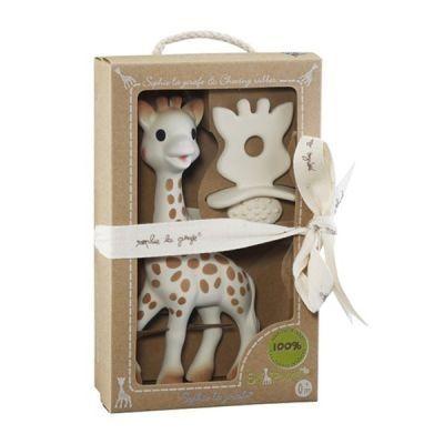 """Подаръчен комплект """"Софи жирафчето и гума за дъвчене"""" от колекцията """"So pure"""""""