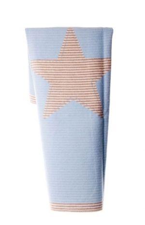 """Одеяло Juwel """"Звезда"""" светло синьо - David Fussenegger"""