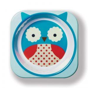 Skip Hop Детска купичка Zoo - Бухалче