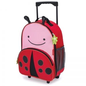 Skip Hop Детска чанта на колела Zoo Luggage - Калинка