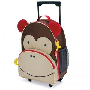 Skip Hop Детска чанта на колела Zoo Luggage - Маймунка