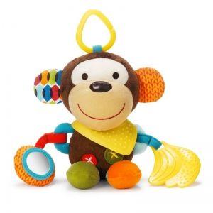 Skip Hop Мека играчка с чесалка - Маймунка