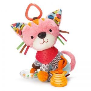 Skip Hop Мека играчка с чесалка - Котенце
