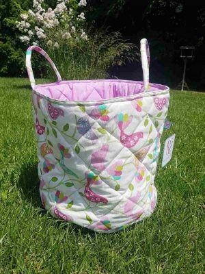 So Sweet Line Кош за играчки розови птици