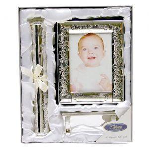 The Juliana Collection посребрен комплект за кръщене