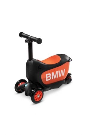 Micro Mini 2 Go Deluxe BMW тротинетка Black/Orange