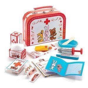 Djeco - Детски ветеринарен комплект