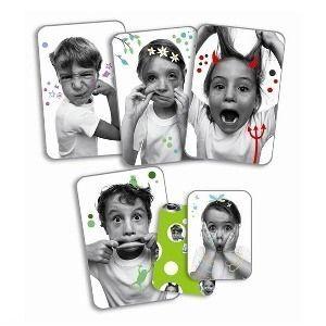 """Djeco - Детски карти за игра """"Grimaces"""""""