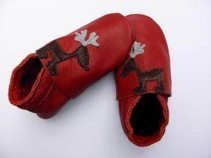 Пантофки Червено Еленче