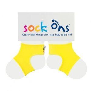 Държачи за чорапи 0-6 м жълто