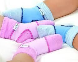 Държачи за чорапи 6-12 месеца  св. синьо
