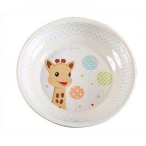 """Софи жирафчето меламинов сет за хранене """"Балони"""""""