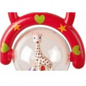 Софи жирафчето Дрънкалка с дръжка