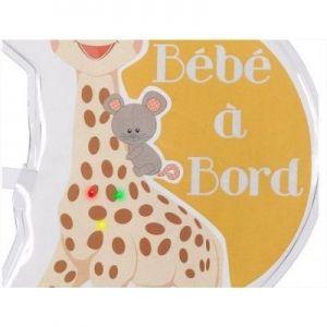 """Софи жирафчето светещ знак 'Бебе в колата"""""""