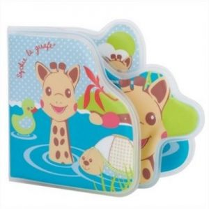 """""""Софи жирафчето"""" Книга за банята"""