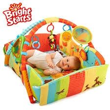 Bright Starts Активна гимнастика 5 в 1 SWINGIN' SAFARI Baby's Play Place - 9219